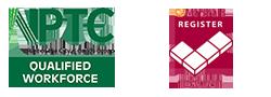 NPTC & Marshalls Register Logos