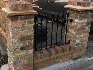 Black Wrought Iron Railings Front Driveway