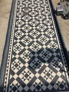 Classic Livingstone Black Tiled Path